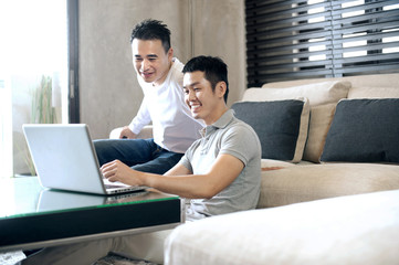 Asian Man Lifestyle