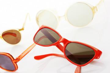 Retro sunglasses.