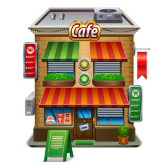 coffee shop store or cafe
