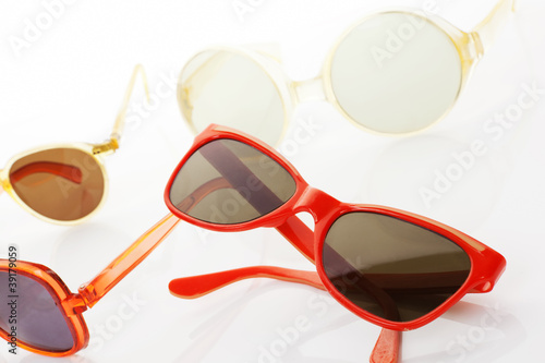 Retro sunglasses.