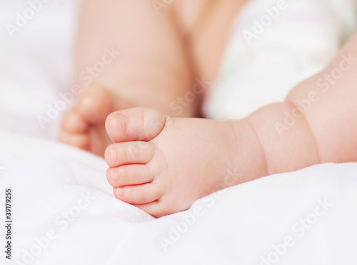 feet of a baby