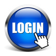LOGIN - blue icon