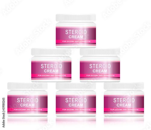 Steroid cream.