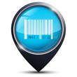 Symbole glossy vectoriel prix / code barre