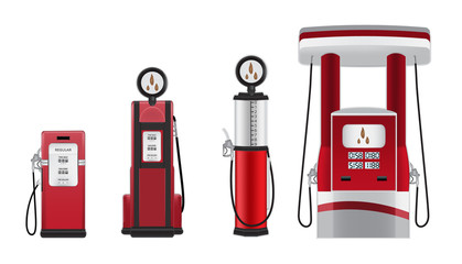 petrol pump illustrations