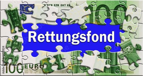 Rettungsfond - Puzzle - Geldschein
