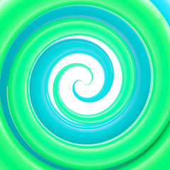 Glossy twirl, whorl as an abstract background