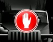 """pictograph """"Not to talk on a mobile while driving"""""""