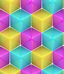 Seamless abstract colorful background