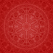 Seamless floral pattern. Retro background