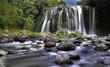 Cascade rivière Sainte-Suzanne, La Réunion.