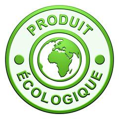 """Cachet """"Produit Ecologique"""""""