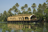 India. Crociera in Kerala.  Houseboat