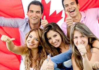 Young people in Canada