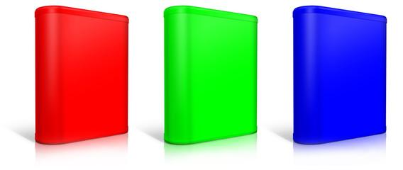 Round box. Software box