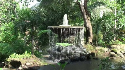 Antique fountain, Bali
