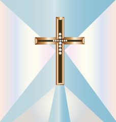 Christian  gold  cross