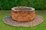 The Ancient brick well