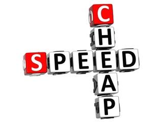 3D Get Speed Test Cheap Crossword