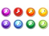 Bottoni Colorati-Buttons Colors-Vector