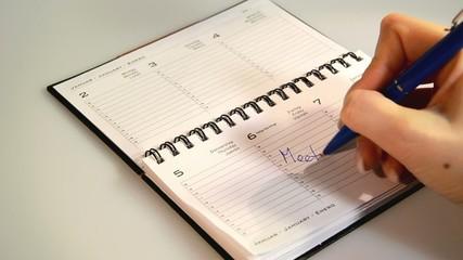 Kalendereintrag Meeting