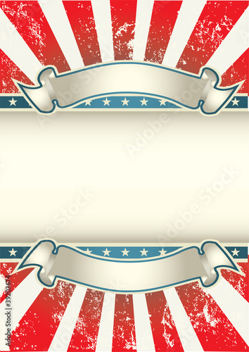 USA Colors Poster