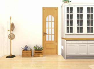 ロハスな暮らしのドア(パース)
