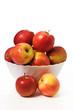 Schüssel mit Äpfel