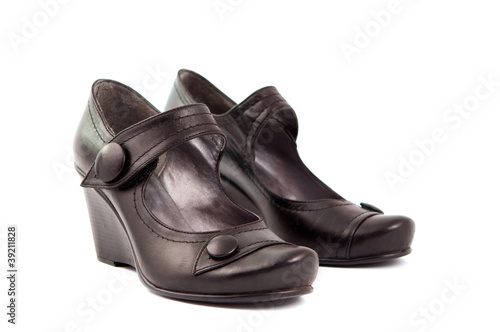 women's shoes isolated