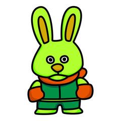 Rabbit Mascot 05