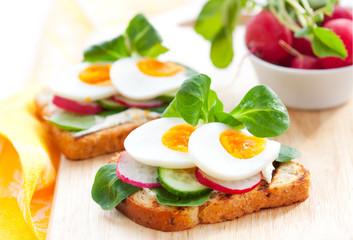 toast sandwiches