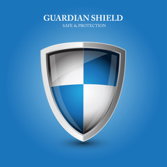 Guardian shield - safe and protection
