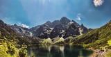 Fototapety Morskie Oko lake in polish Tatra mountains