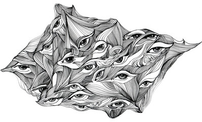 abstract eyes (series C)