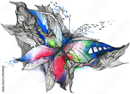 abstract butterfly (series C) © ankdesign