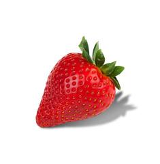 Erdbeere mit Beschneidungspfad