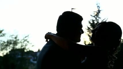sposi silhouette