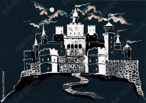 Papiers peints Fortification castle (series C)