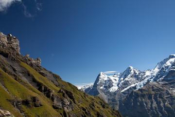 Gipfel in den Alpen