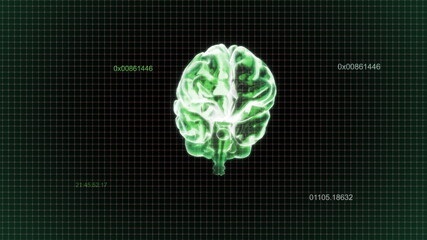 green brain rotate