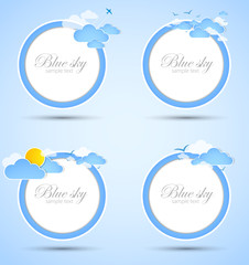 Good weather background elements.