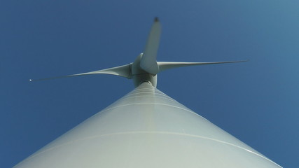 Wind turbine clean energy