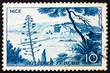 Postage stamp France 1955 Nice, France