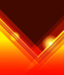 Abstract vector orange background illustration