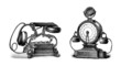 2 Telephones 19th - Vintage