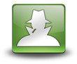 "Green 3D Effect Icon ""Spy / Investigator"""