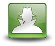 "Green 3D Effect Icon ""Spy / Investigator"""