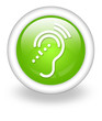 "Light Green Icon ""Hearing Impairment"""