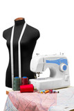professional dressmaker equipment poster