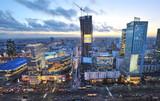 Fototapety Panorama Warszawy